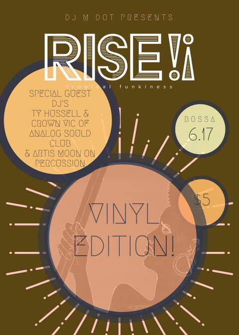 Ty Hussell guest DJs at RISE!! Party, June 17, 2017
