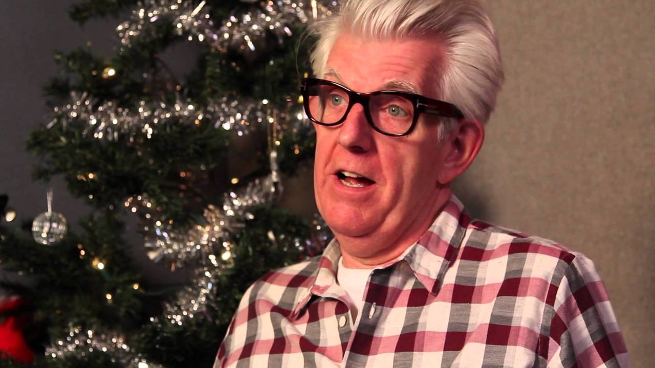 Nick Lowe talking about Christmas albums