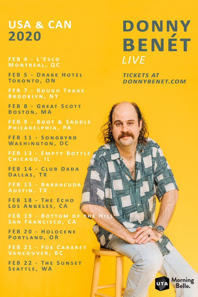 Donny Benét US tour