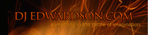 web banner for science fiction and fantasy author DJ Edwardson