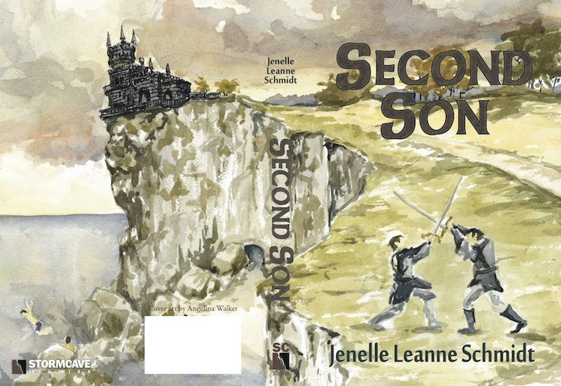 full cover second son book by jenelle schmidt