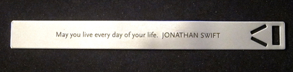may you live every day of your life - jonathan swift