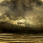 desert storm from Into the Vast - science fiction novel