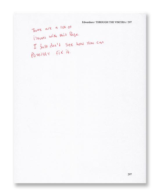 editing fun - viscera manuscript