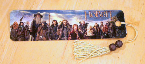 hobbit movie bookmark