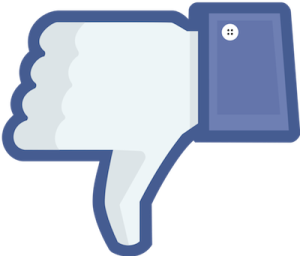 Thoughts on Facebook-thumbs down