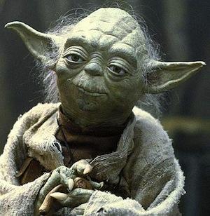 yoda, pondering
