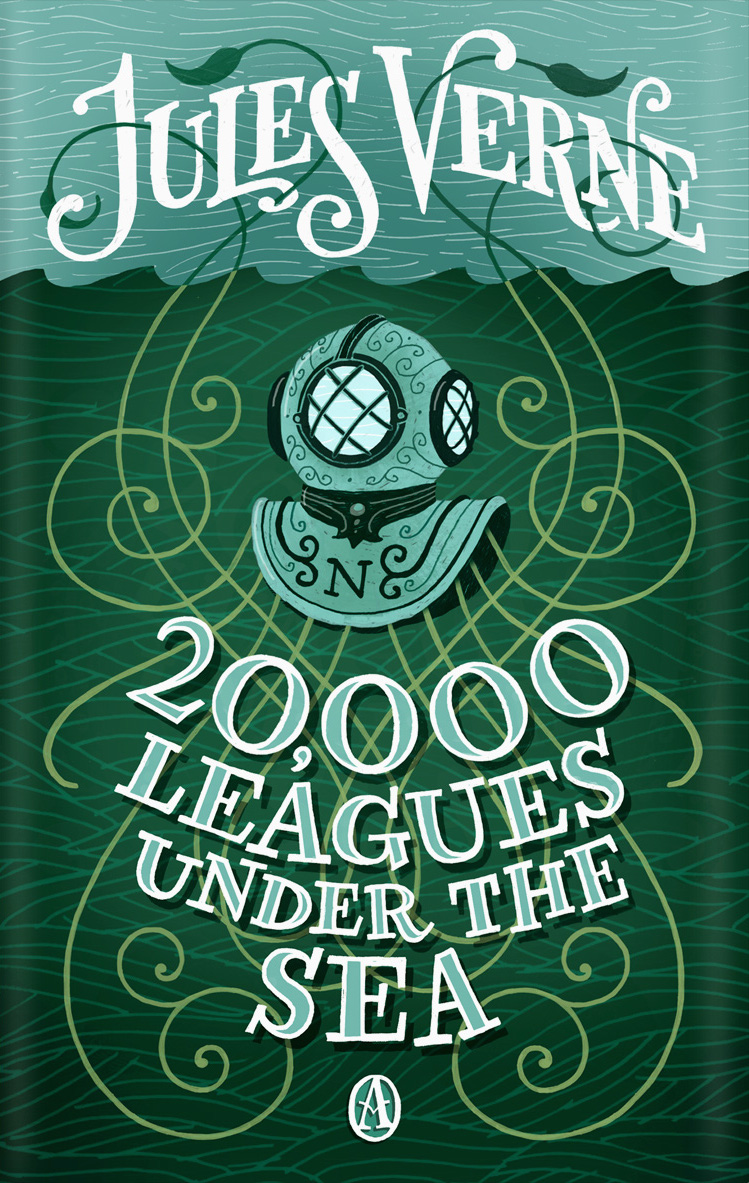 twenty thousand leagues book cover