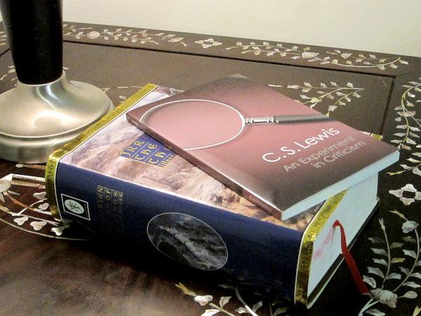 nightstand books lewis & tolkien