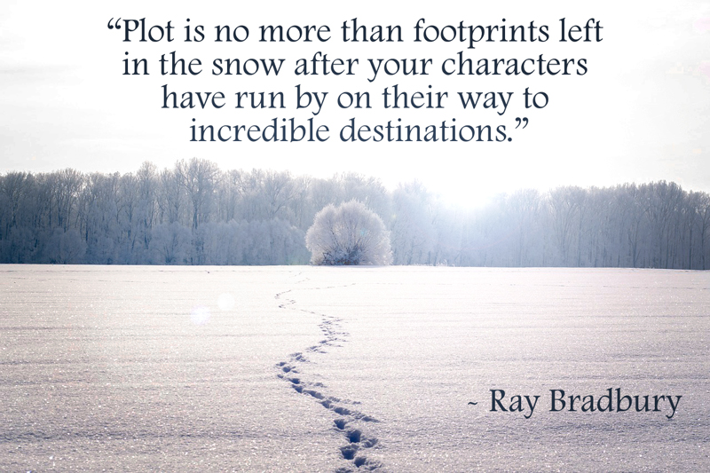 ray bradbury quote on plot