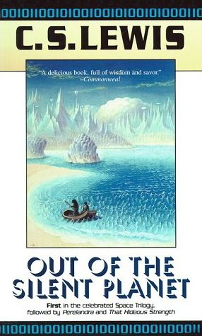 out of the silent planet book cover - c.s. lewis