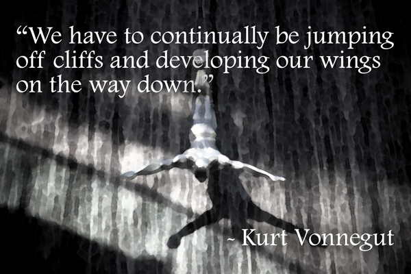 cliff jumping quote