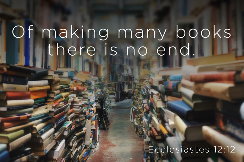 books ecclesiastes quote
