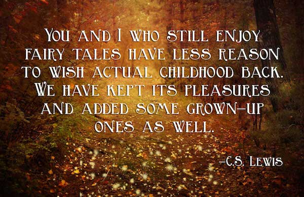 cs lewis fairy tale quote