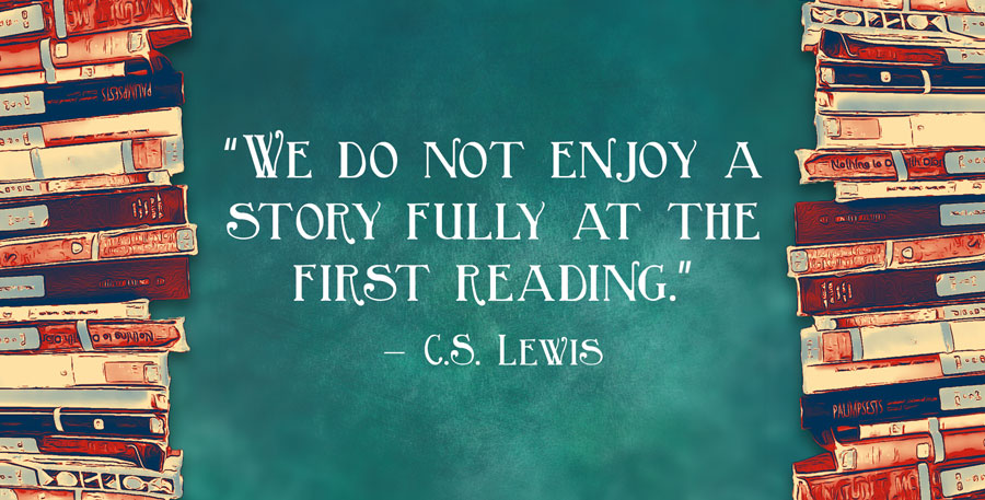 first reading lewis quote