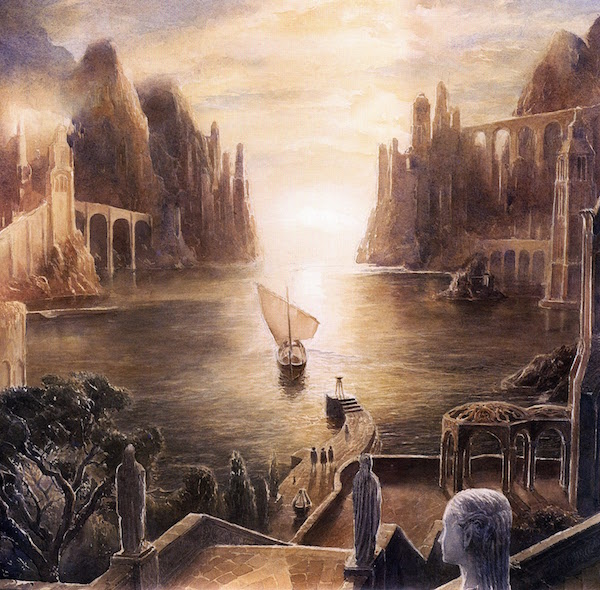 lord of the rings alan lee grey keepns