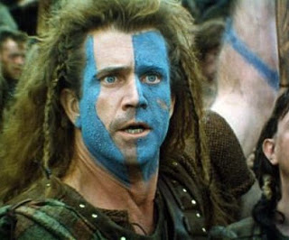 woad warrior - Mel Gibson in Braveheart