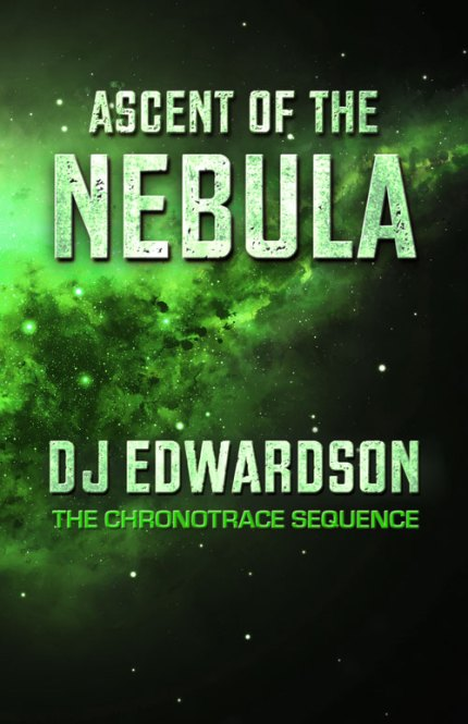 Ascent of the Nebula - science fiction book cover - DJ Edwardson