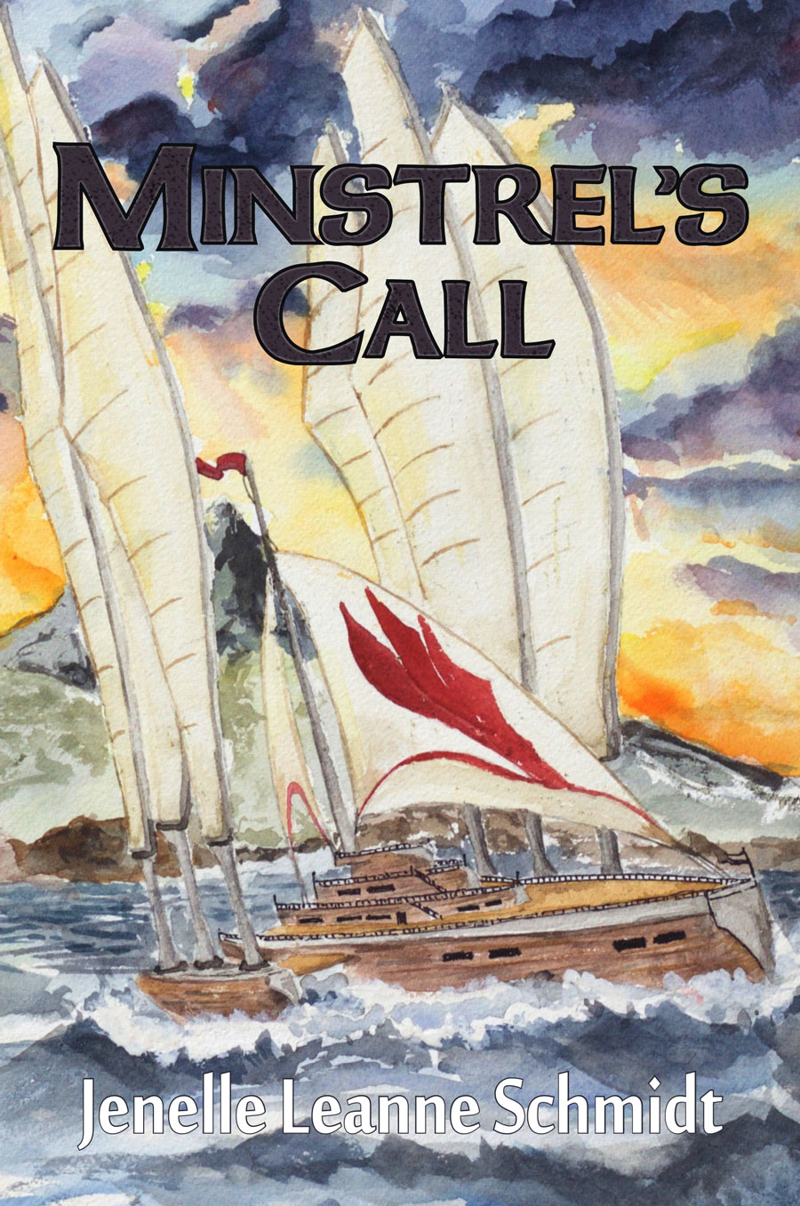 minstrel's call cover for the fantasy novel by Jenelle Schmidt