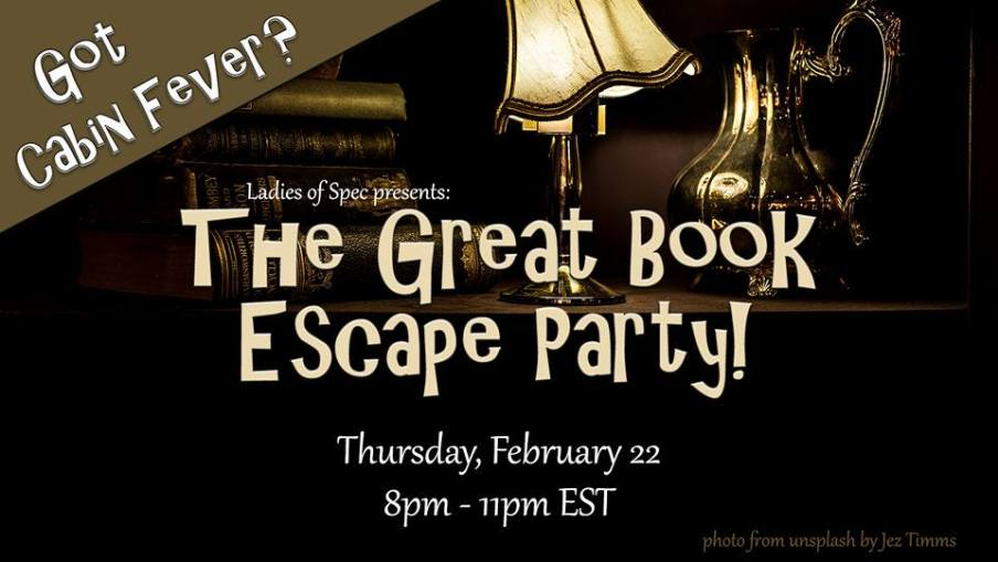 great book escape party-facebook