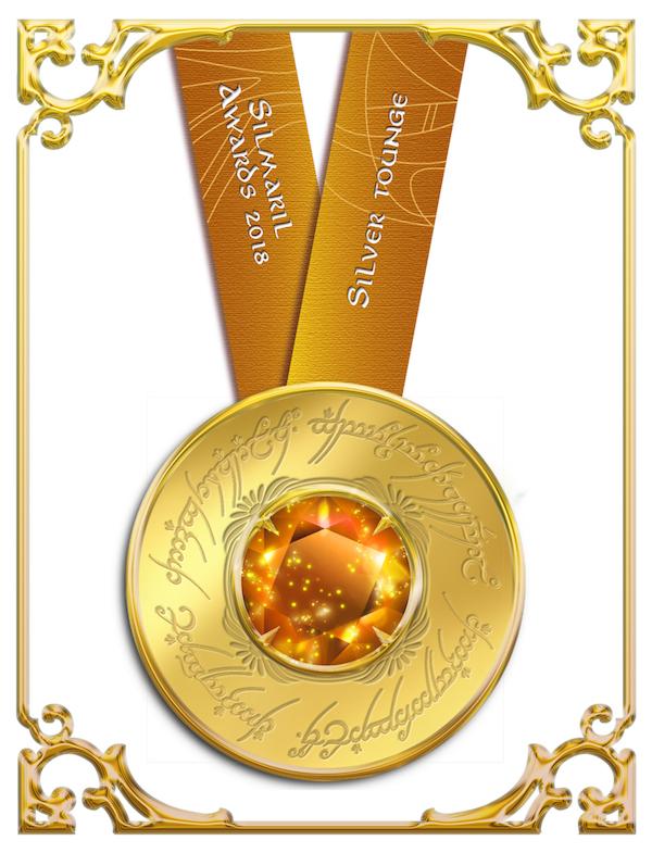 Silver tongue award 2018 Silmaril Awards