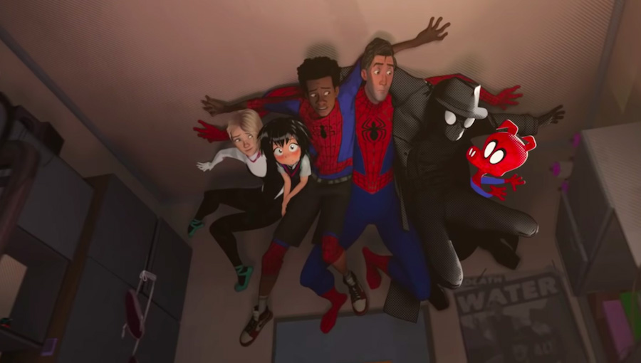 into the spiderverse characters