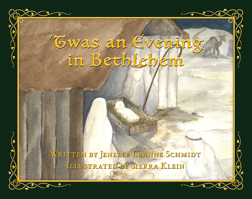 Evening in Bethlehem Cover - Children's book by Jenelle Schmidt