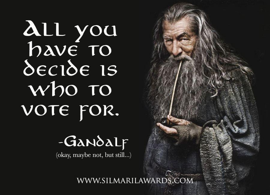 gandalf 2020 silmaril awards voting