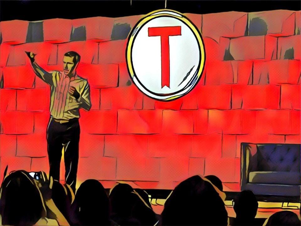 Jon Acuff at Tribe 2017