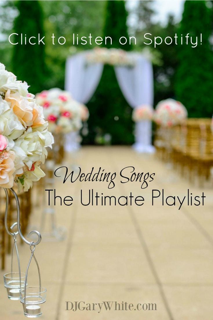Wedding Songs Playlist | Orlando DJ Gary White