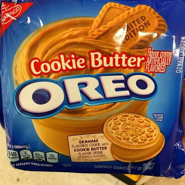 So...I found these at Target a few weeks back, bought 'em, and they're definitely in my top 3 or 4 BUT I can't find them anymore . They just up and left!  #oreo #cookiebutteroreo #cookiebutter