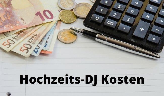 Hochzeits DJ Kosten
