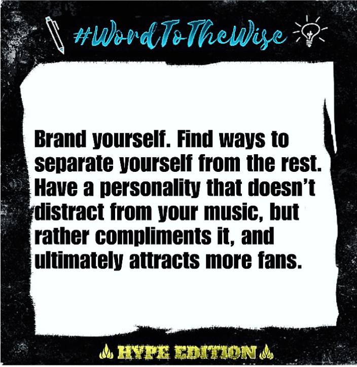 """#WordToTheWise: """"Brand Yourself"""""""
