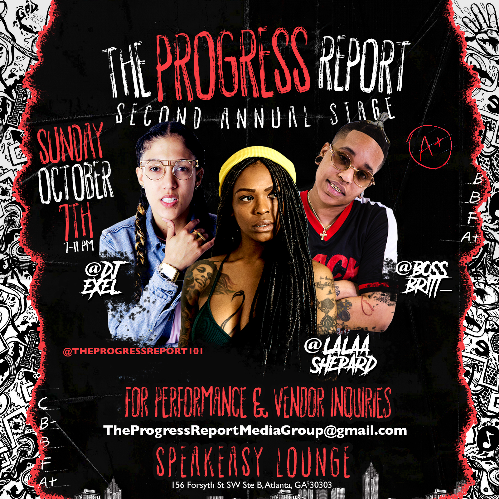 Perform A3C Weekend In ATL! [The Progress Report 2nd Annual Showcase] Sunday, October 7th