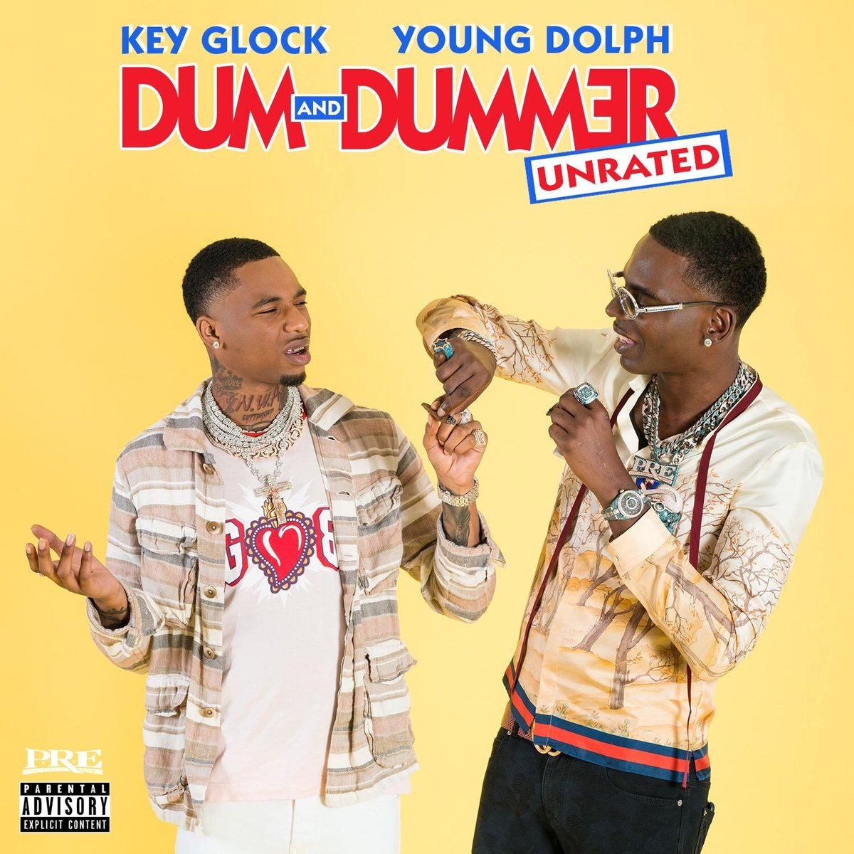 Young Dolph & Key Glock – Dum and Dummer [Album]