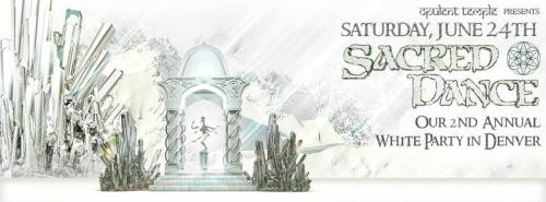 Opulent Temple Sacred Dance White Party Denver 2017