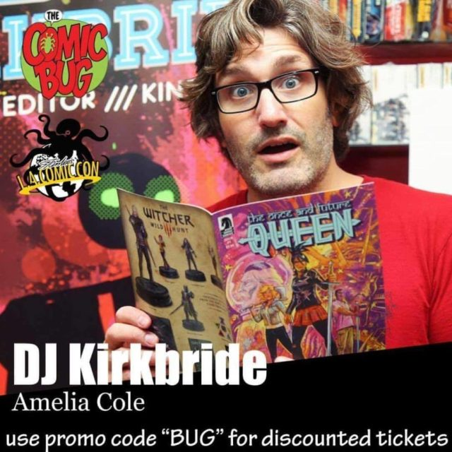 Joining Me At My Table Will Be Cartoonist Douglas Gauthier Pronounced Heysoupface Hell Have His Zines And Ill Have The Amelia Cole Omnibus