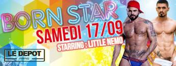 Born Star 17/09/2016 @ Le Depot