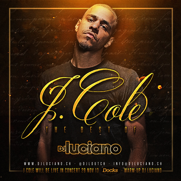 "Mixtape ""DJ Luciano - The Best of J Cole"""