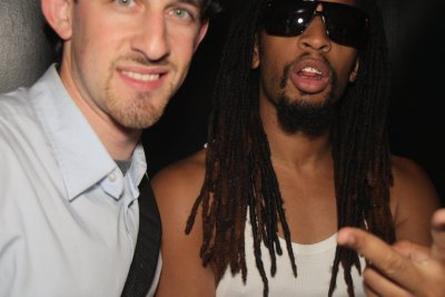 DJ Maskell with Lil Jon in 2011