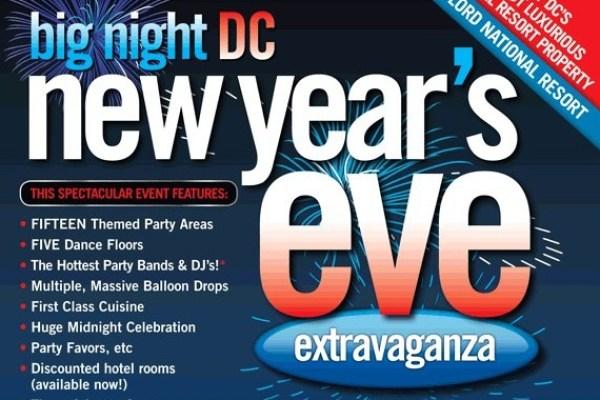 DJ Maskell at Big Night DC New Years Eve at the Massive Gaylord National Harbor!