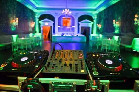 DC Uplighting in Georgetown at City Tavern Club, Uplighting by DJ Maskell