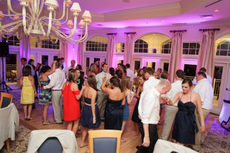 Outer Banks Uplighting by DJ Maskell at Duck Woods Country Club OBX