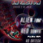 Red Alien Invasion
