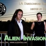 Red Alien Invades Bamboocha Radio
