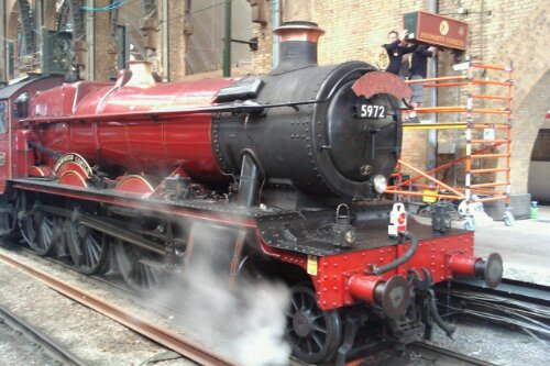 Due to engineering works Platform 9 3/4 is closed