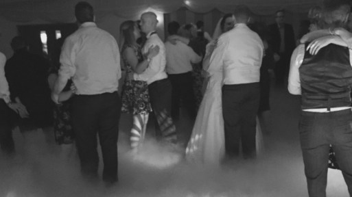 Wedding Dancing on Clouds