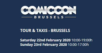 COMICCON Brussels 2020