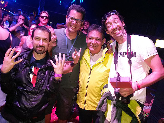 Tomorrowland Brasil 2015, com Mauricio Soares ao centro