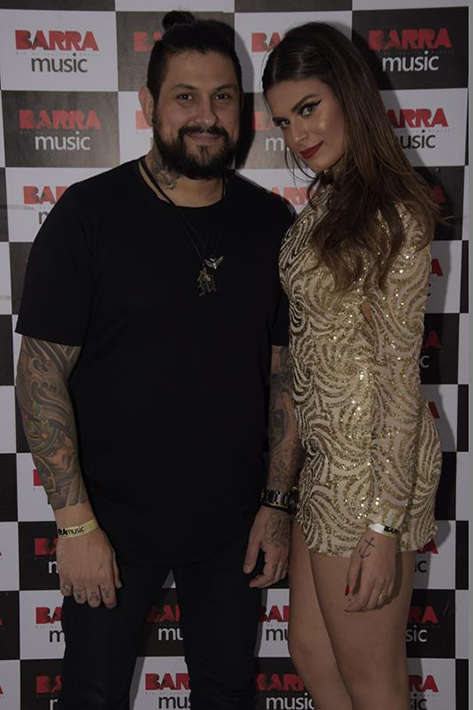 Juliana Barbosa e Marcelo Carlesso